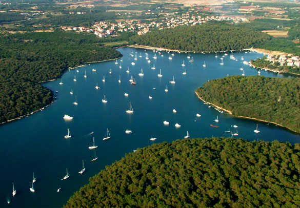 Yachting in Istria
